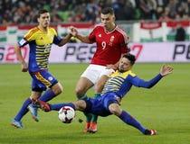 Ungarn V Andorra - FIFA 2018 Weltcup-nähere Bestimmung 4-0 Stockbilder