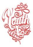 Ungdom har ingen ålder Arkivbilder