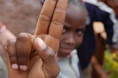 Ungdom i Nairobi, Kenya Arkivbilder