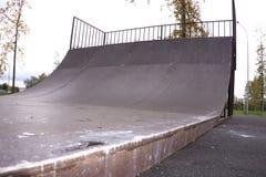 Ungdomspolitik för kultur för stad för Skatepark rampjippo arkivbild