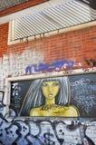 Ungdomuttryck: Stads- konst i Freo, västra Australien Arkivfoton