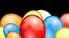 Ungeövergångsballonger lager videofilmer