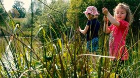 Unge som fiskar #16 Arkivbilder