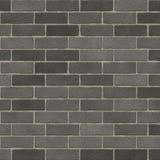Ungefärlig grå tegelstenvägg Royaltyfri Foto