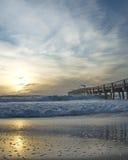 ungefärliga hav för pir ii Fotografering för Bildbyråer