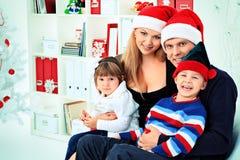 Ungeföräldrar Fotografering för Bildbyråer