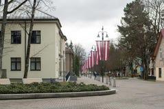 Ungeheuerstadt, Lettland lizenzfreies stockbild