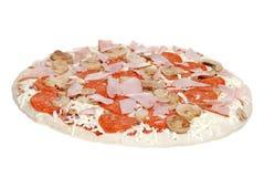 Ungekochte Pizza Lizenzfreies Stockbild