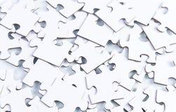 Ungelöstes Puzzlespiel Stockfotografie