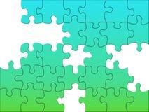 Ungelöstes Puzzlespiel Lizenzfreies Stockfoto