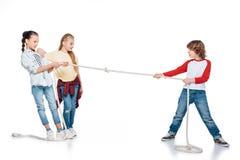 Ungelekdragkamp Fotografering för Bildbyråer