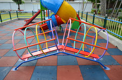 Ungelekplats i grundskola för barn mellan 5 och 11 år Royaltyfri Bild