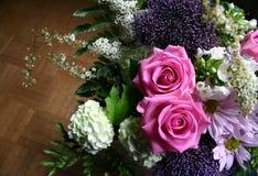 Ungerader Blumenstrauß Lizenzfreies Stockbild