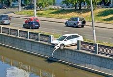 Ungerader Unfall 2 Stockfotografie