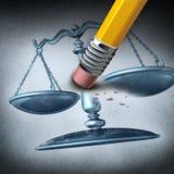 Ungerechtigkeit und Unterscheidung vektor abbildung