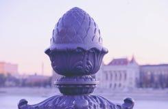 Ungern Budapest, del av brogarneringen, stad på lodisarna Royaltyfria Foton