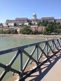 Ungern Budapest, Royal Palace Arkivfoton