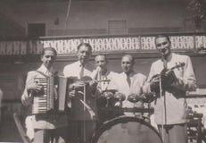 UNGERN DT00085 CIRCA restaurangmusikbandet 1930 för ` s arkivfoton