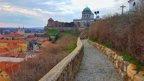 Ungern-Esztergom Royaltyfri Bild