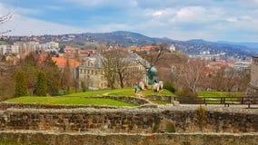 Ungern-Esztergom Royaltyfri Fotografi