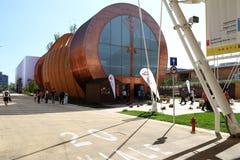 Ungern Milan, milano expo 2015 royaltyfri bild