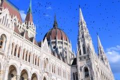 Ungernparlament arkivfoto