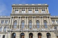 Ungersk akademi av vetenskaper i Budapest royaltyfria foton