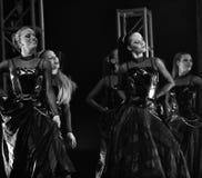 Ungersk modern dansshow Royaltyfria Foton
