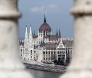 ungersk parlament Royaltyfria Foton