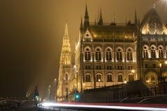 ungersk parlament Arkivbilder