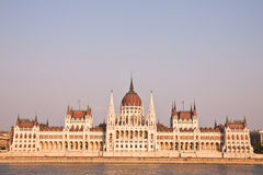 Ungersk parlament i Budapest, Ungern Arkivbild