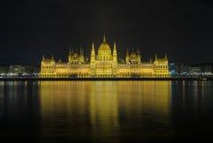 Ungersk parlamentbyggnad Arkivbilder
