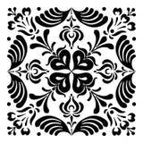 Ungerska motiv fyrkant-formas Royaltyfri Foto