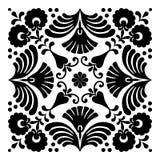 Ungerska motiv fyrkant-formas Fotografering för Bildbyråer