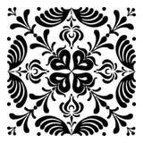 Ungerska motiv fyrkant-formas Royaltyfria Foton