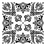 Ungerska motiv fyrkant-formas Royaltyfri Bild