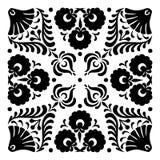 Ungerska motiv fyrkant-formas Royaltyfri Fotografi