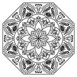Ungerska oktogonbeståndsdelar Royaltyfri Bild