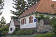 Ungerskt hus arkivbilder