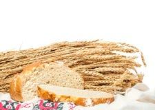 Ungesäuertes Brot des Weizens Stockbilder