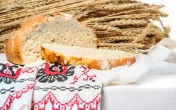 Ungesäuertes Brot des Weizens Stockfotos