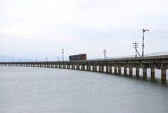 Ungesehener Thailand-Zug von lopburi Stockfotos