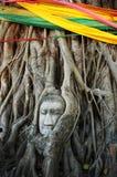 Ungesehenes Thailand bei Wat Mahathat, Ayutthayaof Kanchanaburi Stockfotografie