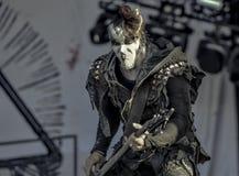 Ungetüm, Orion, leben in Konzert 2017, schwarzes Metall Stockfoto