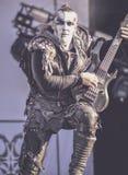 Ungetüm, Orion, leben in Konzert 2017, schwarzes Metall Lizenzfreie Stockfotografie