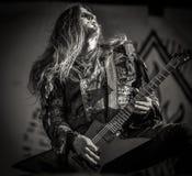 Ungetüm, Seth, leben in Konzert 2017, schwarzes Metall Lizenzfreies Stockbild