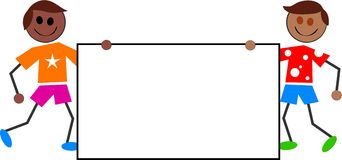 ungetecken vektor illustrationer