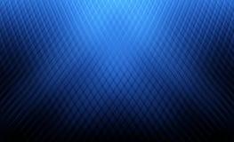 Ungewöhnliche Grafik der blauen abstrakten Raumschablone Lizenzfreies Stockbild
