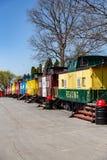 Ungewöhnliche Unterkunft am roten Kombüsen-Motel lizenzfreie stockfotos