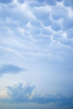 Ungewöhnliche Wolken Lizenzfreies Stockfoto
